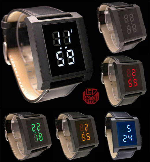 Slan LED Watches: the Bold and the Beautiful