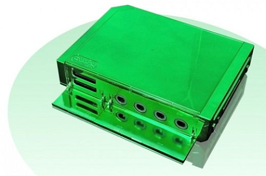 Talismoon Green Tanto Case for Wii