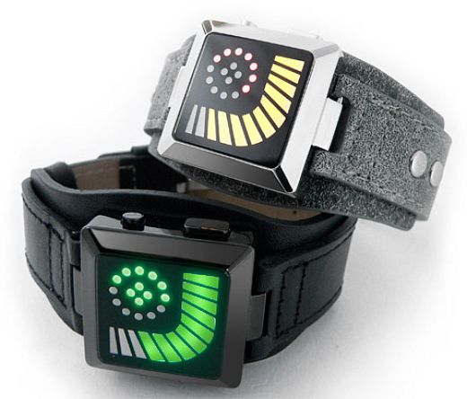 TokyoFlash Kyokusen LED Watch