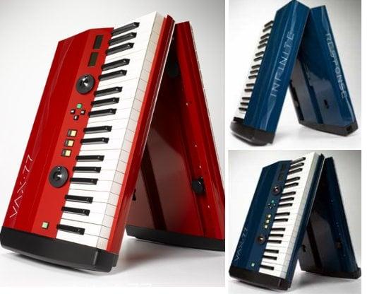Keyboard Folds in Half to Fit in Overhead Bins
