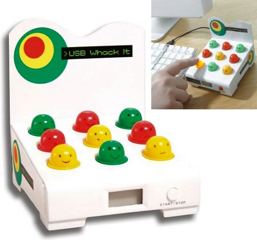 USB Whac-a-Mole: Whack It at Your Desk
