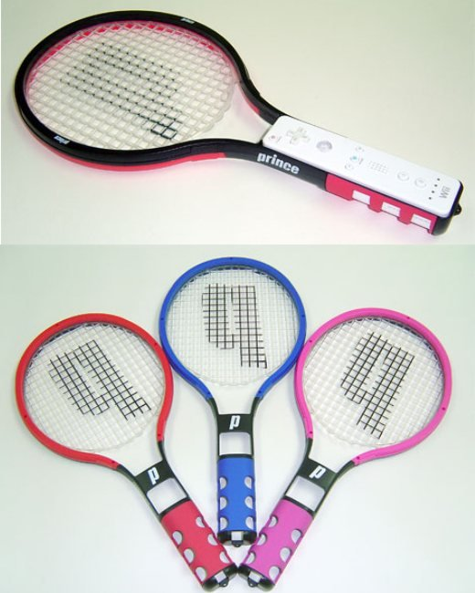 Wii Tennis Rackets by Prince