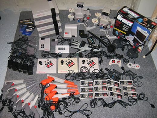 consoles and accessories including Atari 2600, Atari 7800, Atari Jaguar,