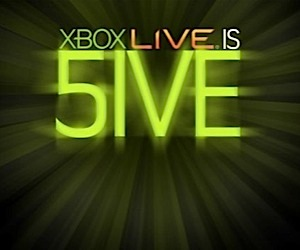 Xbox Live is Five: Happy Birthday!