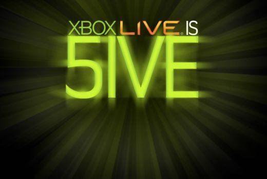 Xbox Live is Five: Happy Birthday!