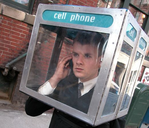 Cell Phone Booth Shuts Up Chatty Kathies