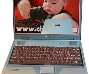 Chocolate Laptop Makes Computing Tasty