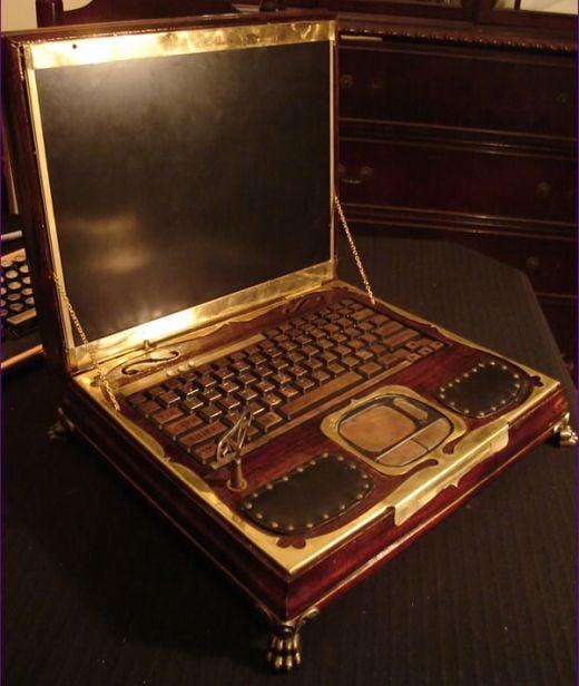 Datamancer Steampunk Laptop