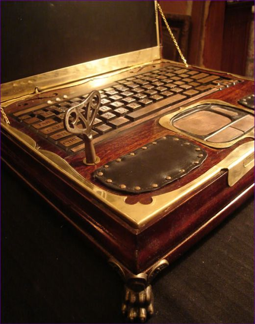 Datamancer Steampunk Laptop