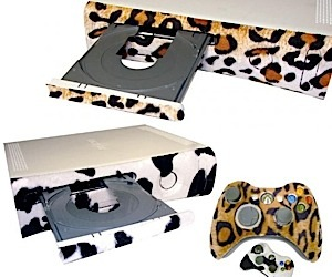 Xbox 360 Faceplates Get Furry