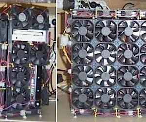 66-Fan Casemod Keeps Things Cool