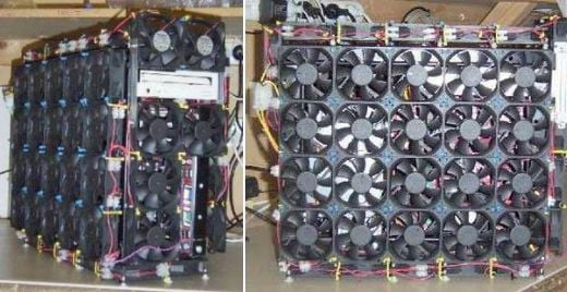 66-Fan Casemod Keeps Things Cool
