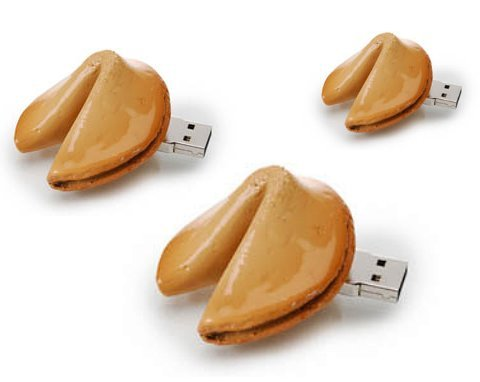 Fortune Cookie USB Drives Save Memories (in Bed)