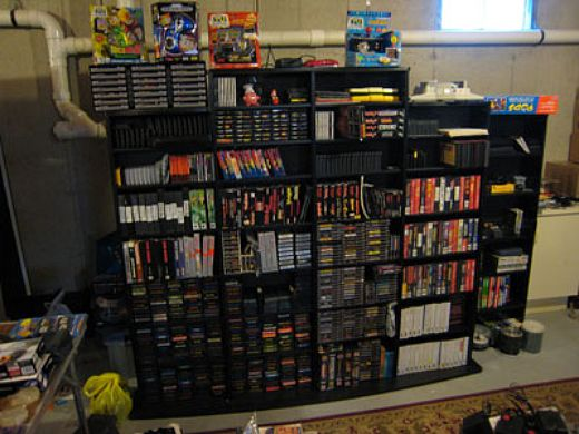 Massive Video Game Collection