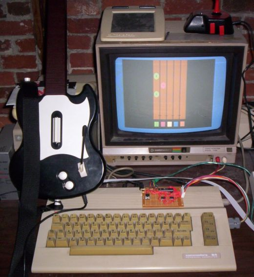 Shredz64 Guitar Hero on Commodore 64