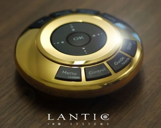 Solid Gold Remote Control Costs More Than a Lexus