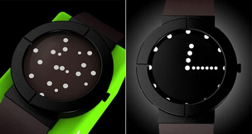 OLED watch by Lv Zhogfang