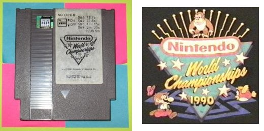 Nintendo World Championships 1990 Cartridge
