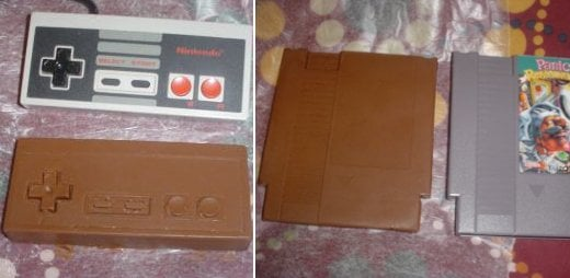 NES Parts Get the Chocolate Treatment