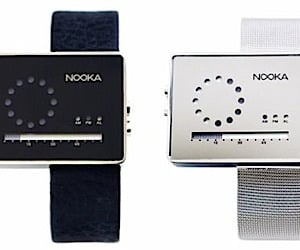 Nooka Zirc LCD Watches Tell Time With Dots and Dashes