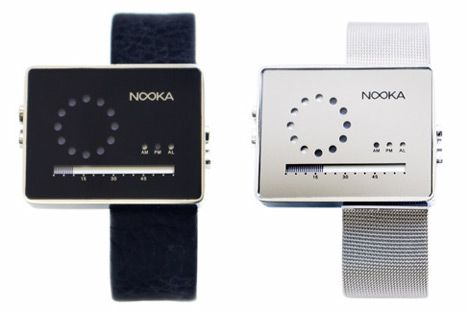 Nooka Zirc LCD Watches