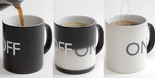 On/Off Coffee Mug - Technabob