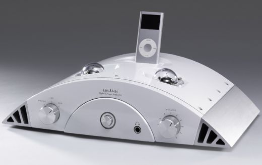 Lars & Ivan Hybrid iPod Dock Amp: Just Add Speakers