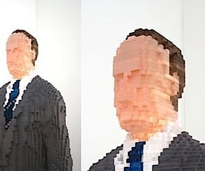 The Pixelated Man