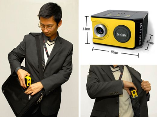 Tiny Projector Fits in Your Pocket
