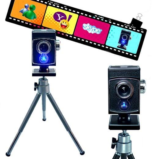 Antique Camera Conceals Webcam