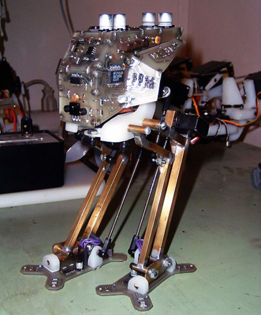 Homebrew Star Wars at-St Learns to Walk