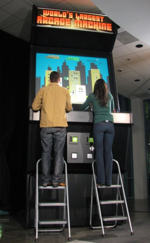 World's Largest Arcade Machine Debuts