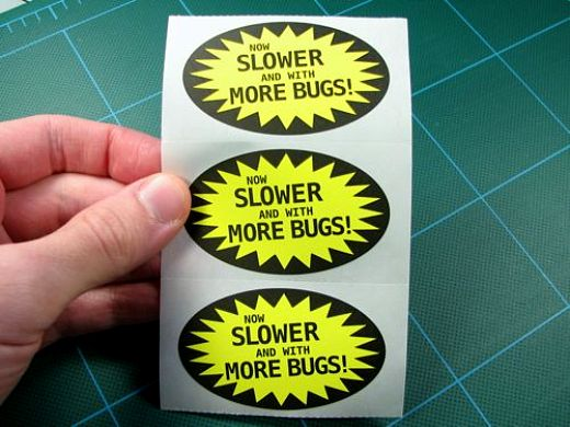 Bug Stickers by Evil Mad Scientist Labs