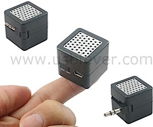 Tiny Cube Speaker Offers Big Sound (for Ants)