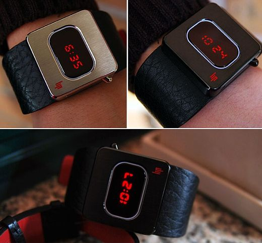 LIP Retro LED Watches