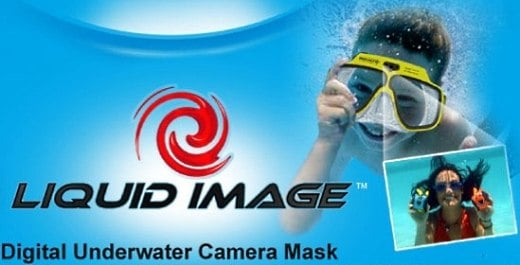 Liquid Image Underwater Camera Mask