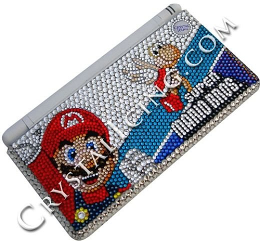 Crystal Nintendo Ds and Wii Bedazzle