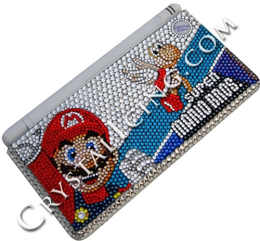 Crystal Covered Nintendo DS