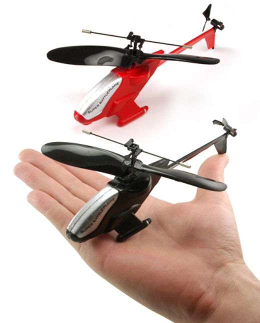 Mini R/C Helicopters Take to the Skies