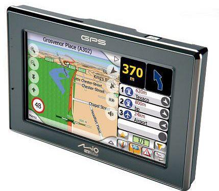 Mio C520 GPS Navigation Device