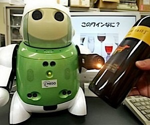Robot Sommelier Makes the Guinness Book