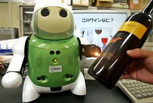 NEC Wine Tasting Robot