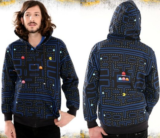 Pac-Man Maze Hoodie is Amazingly Ugly