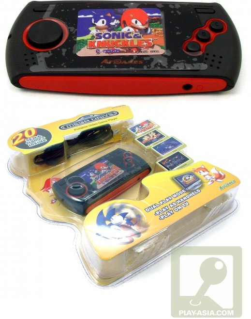 Sega Genesis Portable: Get Your Retro Jollies on the Run