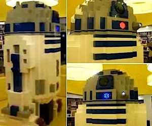 Giant LEGO R2-D2 Could Crush C-3PO