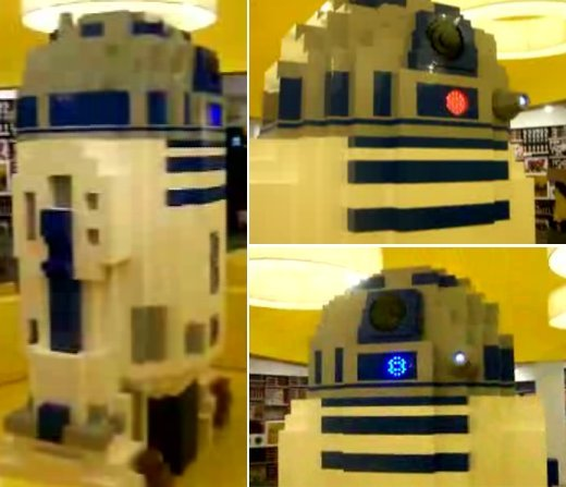 R2-D2 LEGO Statue