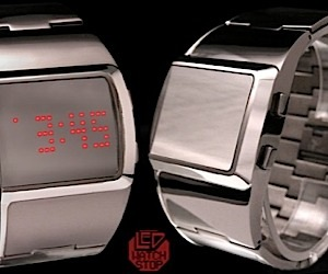 Reflection LED Watch: Mirror, Mirror on Your Wrist