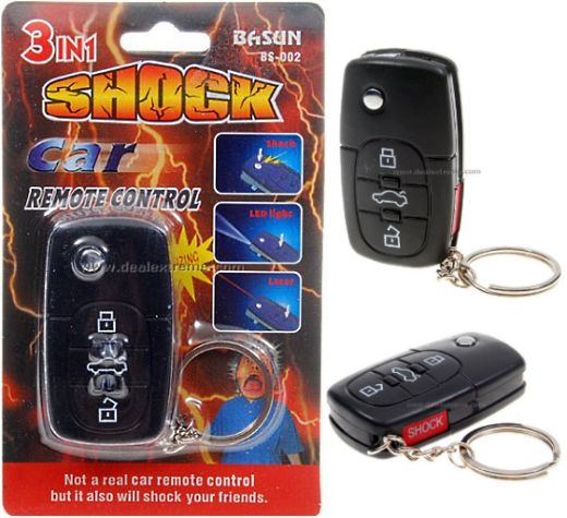 Shocking Car Remote Zaps Bad Valet Parkers