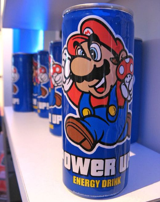 Super Mario Power Up! Energy Drink: Just Add Vodka