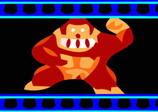 Vector Donkey Kong by Philipp Lenssen